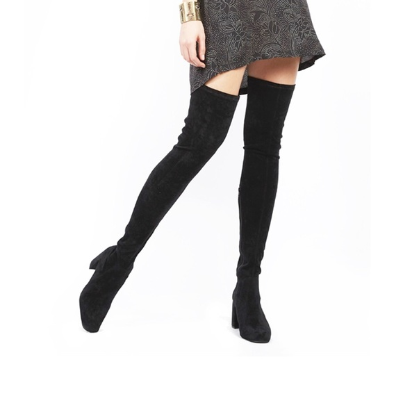 6ad4825c071 Jeffrey Campbell Shoes - Jeffrey Campbell Cienega Thigh High Boots!